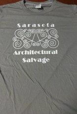 Large Mens SAS Tee Gray