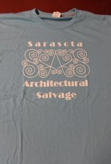 Large Mens SAS Tee Light Blue