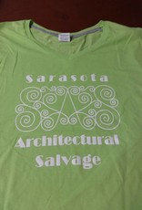 Large Womens SAS Tee Green