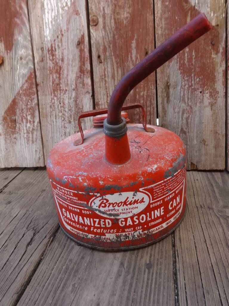 Brookins Vintage Gas Can
