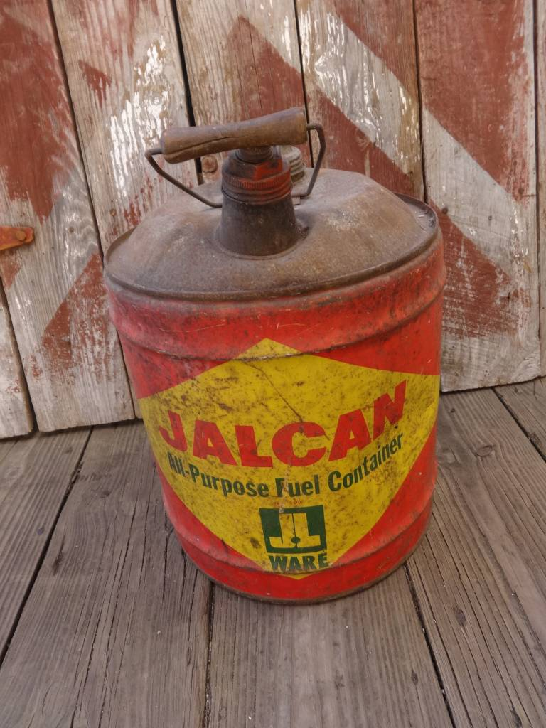 Jalcon Vintage Gas Can