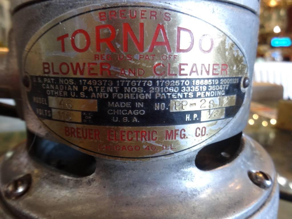 Vintage Breuer Tornado Blower and Cleaner