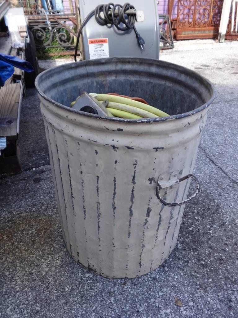 Galvanized Can