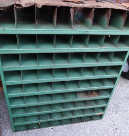 Vintage Kar 72 Unit Metal Parts Bin