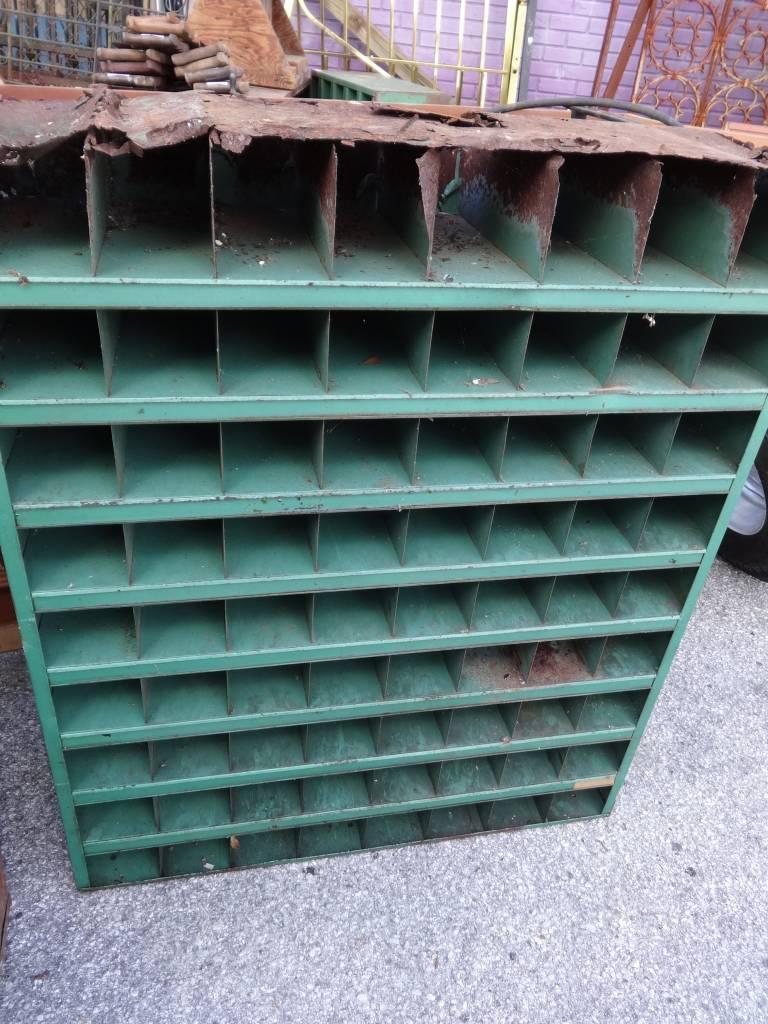 Vintage Kar 72 Unit Metal Parts Bin