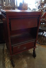 Red Industrial Work Cabinet w/ Casters