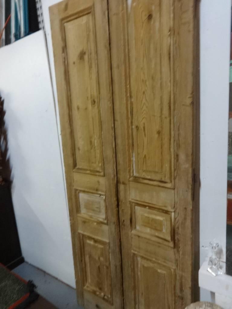 Egyptian Natural Wood Door SET 101x42