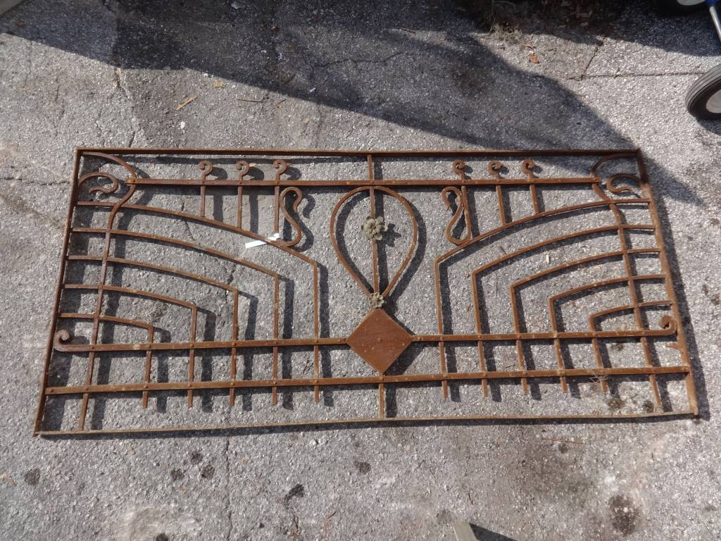 Egyptian Iron Gate Panel G 36x77