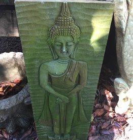 Siamese Buddha on Lotus Base Plaque