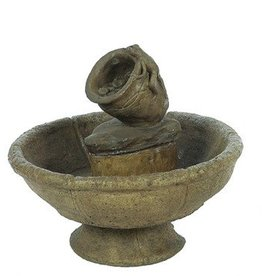 Mayan Frog Fountain