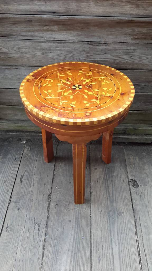 Moroccan Thyua Side Table