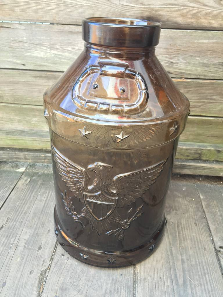 1976 Brown Eagle 5 Gallon Milk Jug