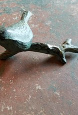 Bird On Perch iron