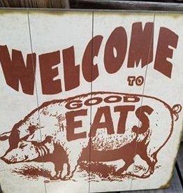 Good Eats 18x18