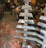 5 Foot Reclaimed Cypress Tree Display
