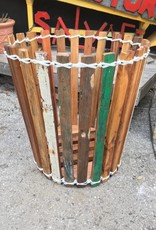 Medium Teak Planter Basket