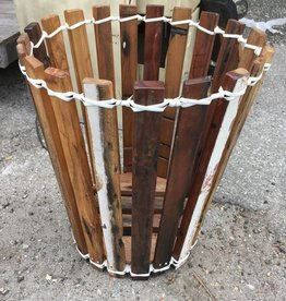 Large Teak Planter Basket