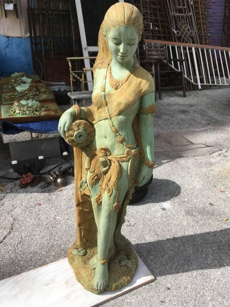 Tall Standing Kinnaree Fountain