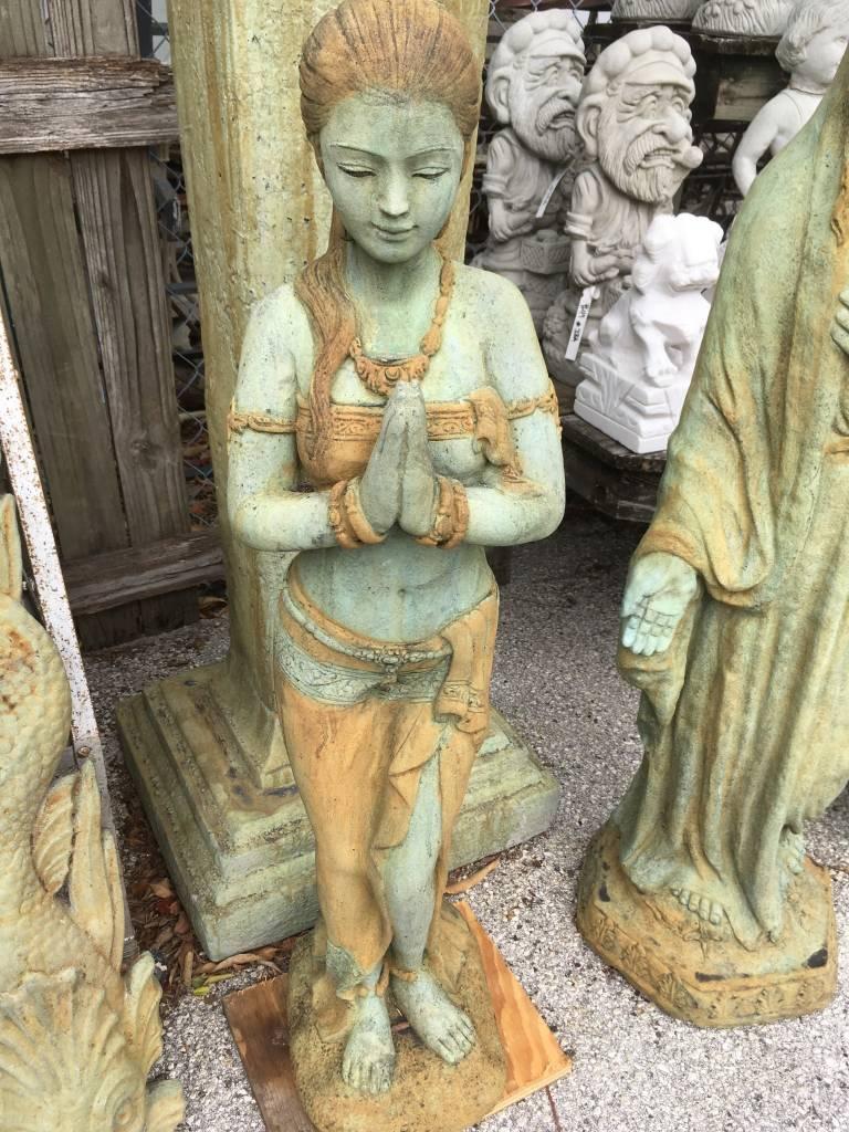 Tall Praying Thai Woman