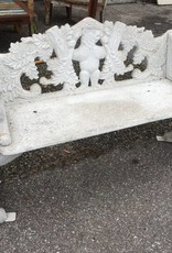 Cast Aluminum Bear Bench