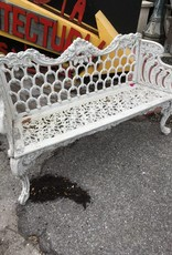 Ornate Cast Aluminum Bench