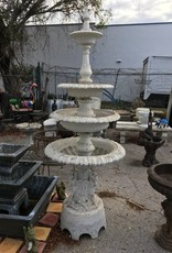 Cast Aluminum 4 Tier Fountain