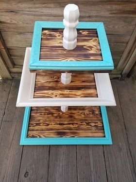 Reclaimed Table Top Fruit Stand