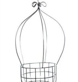 White Peanut Hanging Basket
