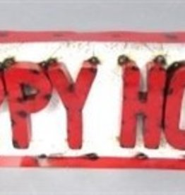 Tin Happy Hour Sign