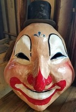 Jingles the Clown Head and Scrap Book