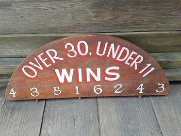 Over 30 under 11