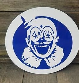 Round Clown Head Tin