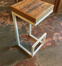 Cypress Panel Modern Stool