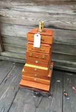 Cigar Box Table Lamp