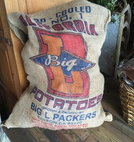 Potato Burlap Bag