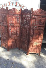 Carved Screen Divider
