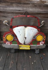 VW Beetle Tin Sign