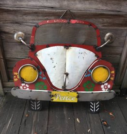 VW Beetle Tin Sign