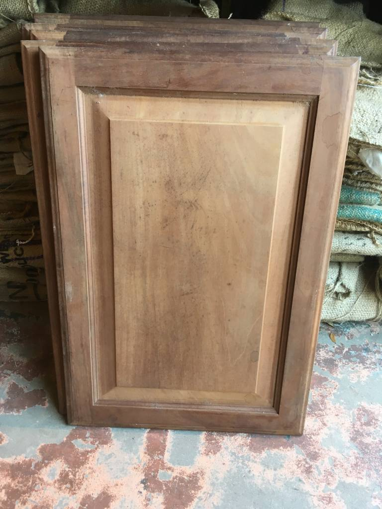 Small Mahogany Cabinet Door Sarasota Architectural Salvage 1093