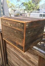 Reclaimed Cypress Panel Box