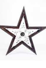 Sm Taranto Wood/Tin Star