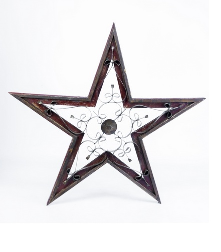 Md Taranto Wood/Tin Star