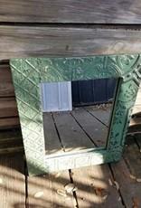 Small Ceiling TIn Mirror