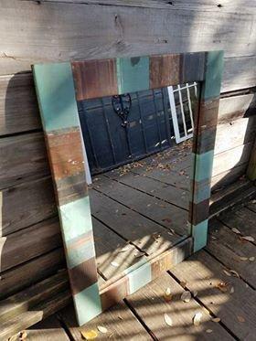 Medium Copper Mirror
