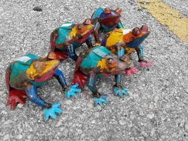 Small Tin Frog