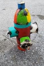 Tin Fire Hydrant