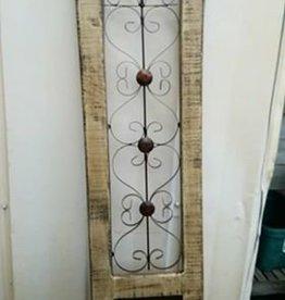 Long Wood Window Panel On Bottom