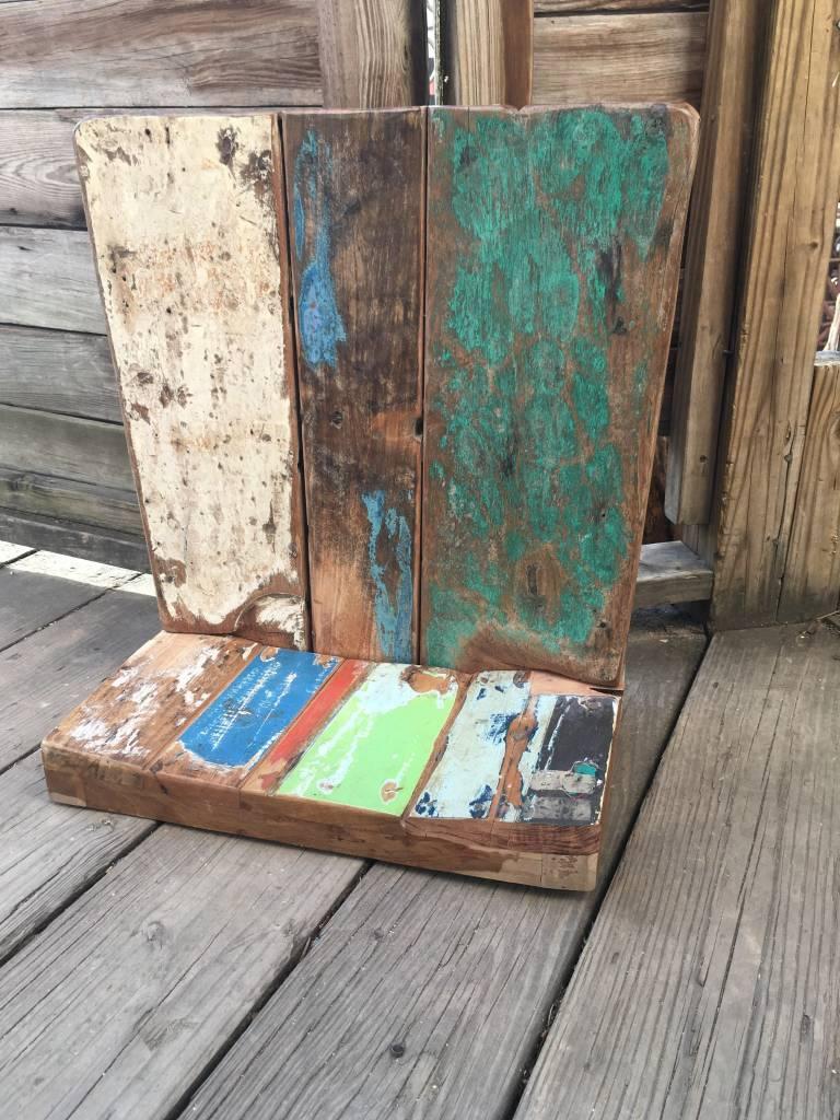 Indonesian Teak Boat Wood Shelf