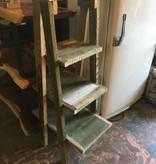 Cypress 4 Shelf Towel/garden Rack
