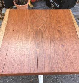 Brazilian Cherry 32x32 Table w/ Shabby Base